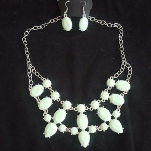 EXCLUSIVE Goddess Glow Green Necklace